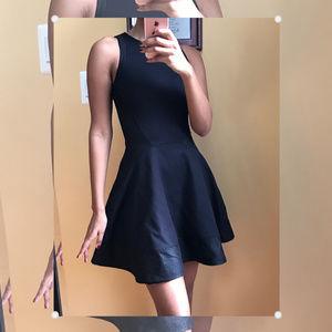 Size 0 Sparkle Black Fit & Flare Skater dress